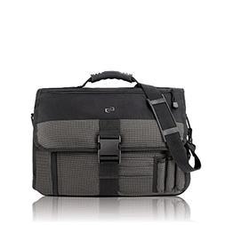 Solo Classic Collection Expandable Messenger Bag, Black