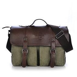 classic crossbody handbag canvas shoulder bag