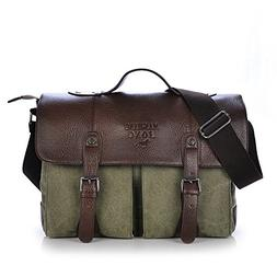 MIcoolker Classic Crossbody Handbag Canvas Shoulder Bag For