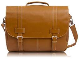 Rockdale Classic Laptop Messenger Bag, Saddle Tan - Briefcas