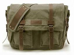 Sweetbriar Classic Laptop Messenger Bag, |Olive Drab)