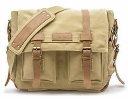 Sweetbriar Classic Laptop Messenger Bag, |Army Khaki)