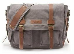 Sweetbriar Classic Laptop Messenger Bag, |Gray)