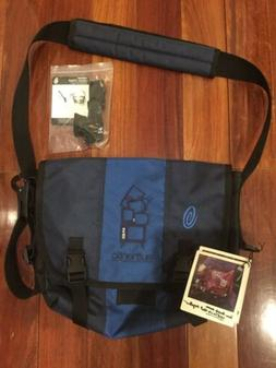 TIMBUK2 Classic Messenger Bag Navy Blue Small w/ Cross Strap