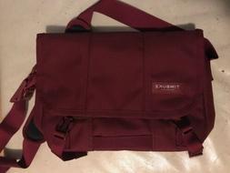 TIMBUK2 CLASSIC MESSENGER BAG Size XS - Burgundy - New Witho