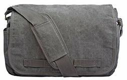 Sweetbriar Classic Messenger Bag Vintage Canvas Shoulder Bag