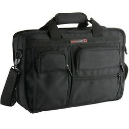 Alpine Swiss Conrad Messenger Bag 15.6 Inch Laptop Briefcase