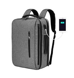 """SLOTRA Convertible Backpack 15.6"""" Laptop Bag 3 in 1 Carry On"""