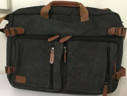 CoolBELL Convertible Backpack Shoulder Bag Messenger Bag Lap