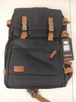 """CoolBELL Convertible Briefcase Backpack Messenger Bag 17.3"""""""