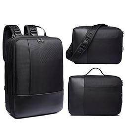 Convertible Backpack Messenger Bag Business Briefcase Should