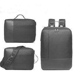 Convertible Laptop Briefcase Backpack, 15.6 Inch Shoulder Ba