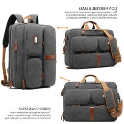 COOLBELL CONVERTIBLE LAPTOP MESSENGER BAG BACKPACK BUSINESS