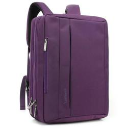 CoolBELL 17.3 inches Convertible Laptop Messenger Bag Oxford