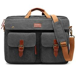 CoolBELL Convertible Messenger Bag Backpack Laptop Shoulder