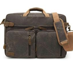 CoolBELL Convertible Messenger Bags Backpack Shoulder Laptop