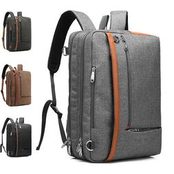 """CoolBELL 15/17"""" Convertible Backpack Laptop Messenger Should"""