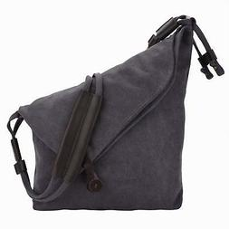Crossbody Bag,COOFIT Messenger Bag Casual Canvas Hobo Bag Sh