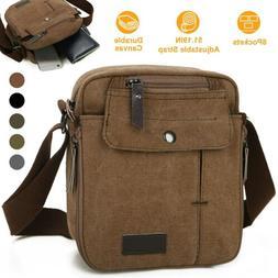 Crossbody Bags Canvas Men Women Messenger Bags Shoulder Bag