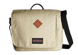 JanSport Crosstalk Messenger Laptop Bag Desert Beige NEW