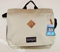 JanSport Crosstalk School Messenger Shoulder Bag Desert Beig