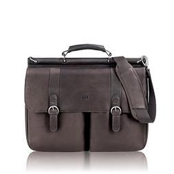 SOLO D5353 - Leather Laptop Portfolio, Leather, 16-1/2 x 5 x