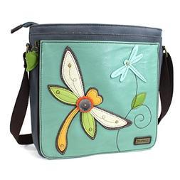 Chala Handbag Deluxe Messenger Bag with Detachable Tablet Sl