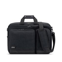 Solo Duane 15.6 Inch Laptop Hybrid Briefcase, Converts to Ba