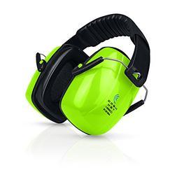 HearTek Earmuffs Hearing Protection with Travel Bag - Noise