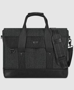 Solo Sullivan 15.6 Inch Hybrid Laptop Breifcase Messenger, B