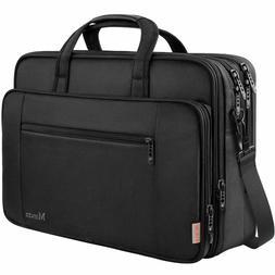 Laptop Briefcase Bag, 17 inch Laptop Bag for Men Women, Wate