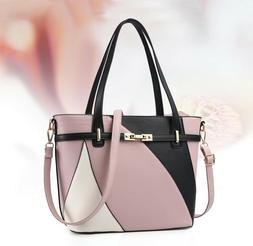 Fashion Women's Leather Tote Bag Crossbody Shoulder Handbag