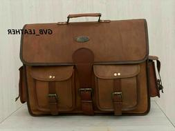Files & All Your Accessories Leather Laptop Messenger Bag Fi