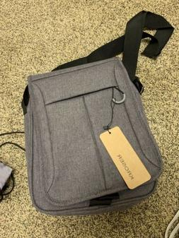 KROSER Flapover Laptop Messenger Bag 11 inch Business Should