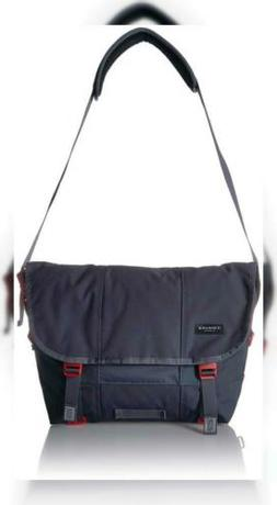 Timbuk2 Flight Classic Messenger Bag, Small, Granite/Flame