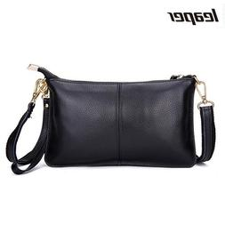 <font><b>Leaper</b></font> Cow Genuine Leather Small Shoulde