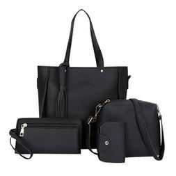 Four-piece <font><b>Bag</b></font> Luxury Handbags Women <fo