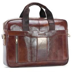 Genuine Leather Bussiness Handbag Men <font><b>Briefcase</b>