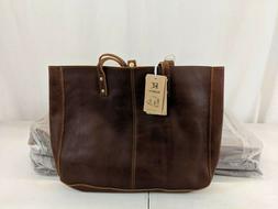 Kattee Genuine Leather Purse Handbag Women Vintage Tote Bag