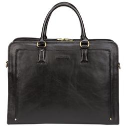Banuce Full Grains Leather Briefcase Messenger Satchel Bag 1