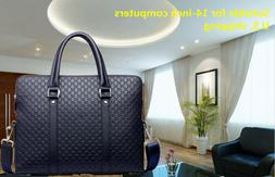 Handmade 14'' Business Messenger Bags Briefcase Laptop Compu