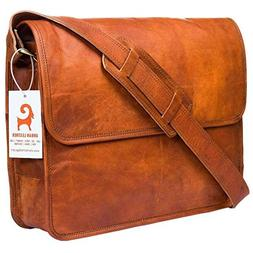 Urban Leather Handmade Laptop Messenger Bag Executive Busine
