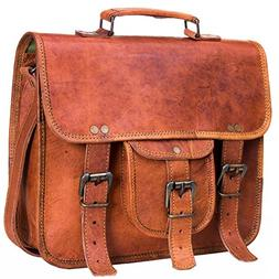 Urban Leather Handmade Leather Messenger Laptop iPad Handbag
