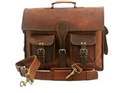 Handmade_world Leather Messenger Bags for Men 16 Women Mens