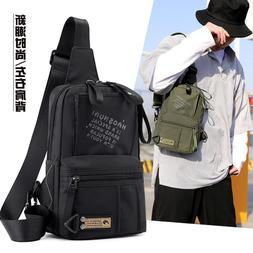 High Quality Sling <font><b>Backpack</b></font> Male Rucksac