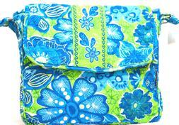 Abbergale Hipster Cross Body Messenger Bag Colorful Cotton Q