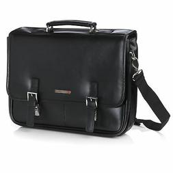 Alpine Swiss Hunter Leather Briefcase Professional Messenger