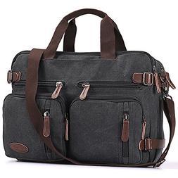 hybrid briefcase backpack messenger bag