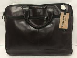Jack&chrismens Genuine Leather Briefcase Laptop Bag Messenge
