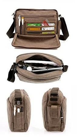 kenox classic multifunctional mens messenger bag crossbody